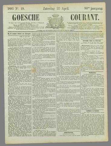Goessche Courant 1893-04-22