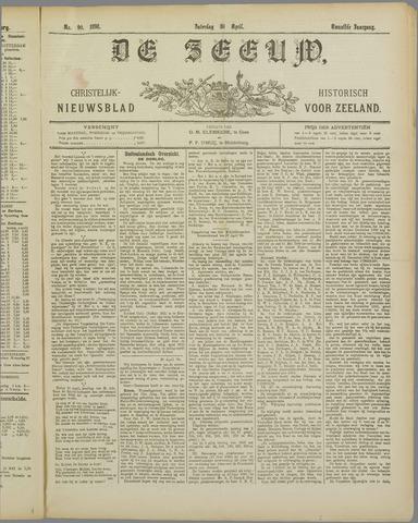 De Zeeuw. Christelijk-historisch nieuwsblad voor Zeeland 1898-04-30