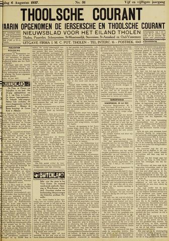 Ierseksche en Thoolsche Courant 1937-08-06