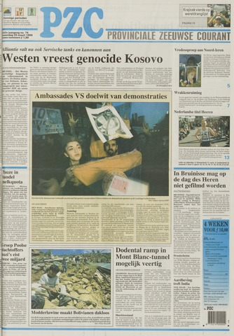Provinciale Zeeuwse Courant 1999-03-29