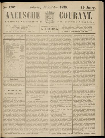 Axelsche Courant 1898-10-22