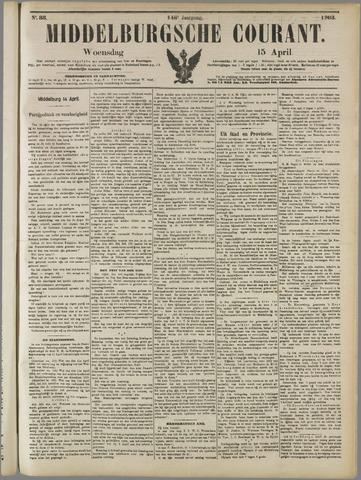 Middelburgsche Courant 1903-04-15