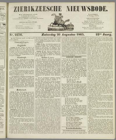 Zierikzeesche Nieuwsbode 1865-08-26