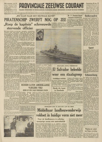 Provinciale Zeeuwse Courant 1961-01-26