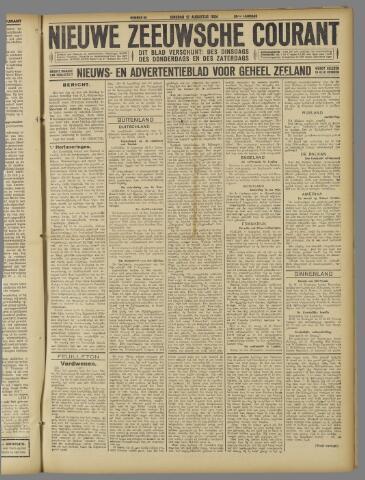 Nieuwe Zeeuwsche Courant 1924-08-12
