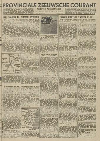 Provinciale Zeeuwse Courant 1943-08-06