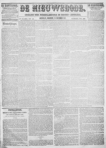 Sheboygan Nieuwsbode 1857-11-24