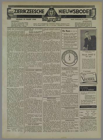 Zierikzeesche Nieuwsbode 1940-03-29