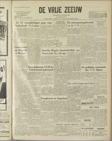 de Vrije Zeeuw 1958-11-05