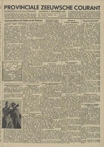 Provinciale Zeeuwse Courant 1943-11-01