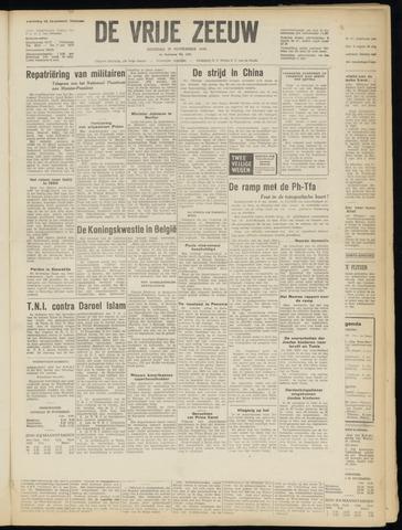 de Vrije Zeeuw 1949-11-29