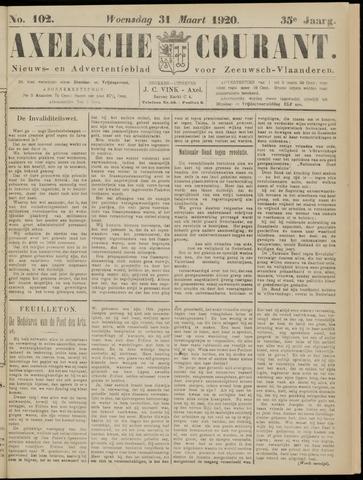 Axelsche Courant 1920-03-31