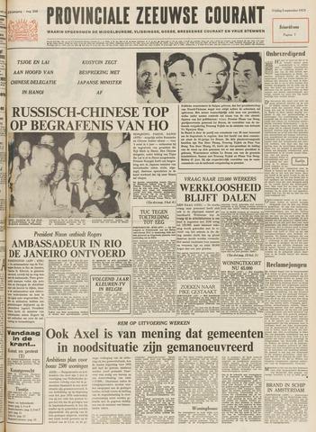 Provinciale Zeeuwse Courant 1969-09-05