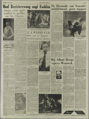 Zeeuwsch Dagblad | 2 juli 1960 | pagina 7 - Krantenbank Zeeland