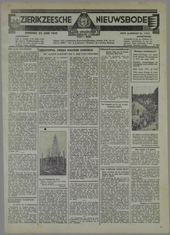 Zierikzeesche Nieuwsbode 1942-06-23