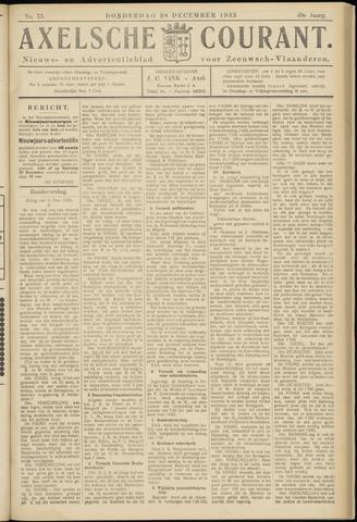 Axelsche Courant 1933-12-28