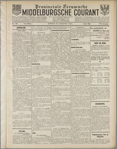 Middelburgsche Courant 1932-08-30