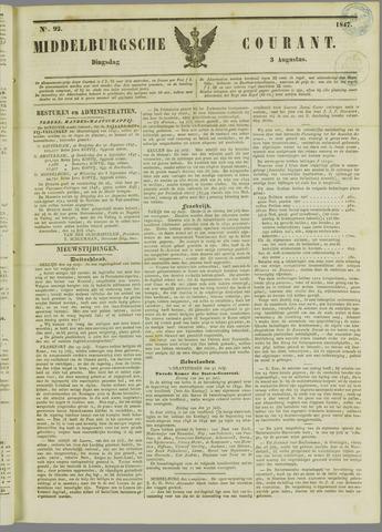 Middelburgsche Courant 1847-08-03