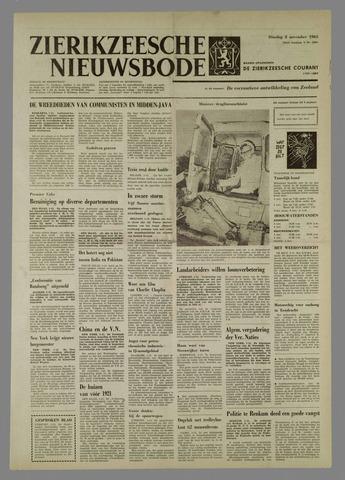 Zierikzeesche Nieuwsbode 1965-11-02