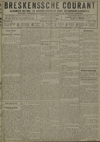 Breskensche Courant 1929-04-24