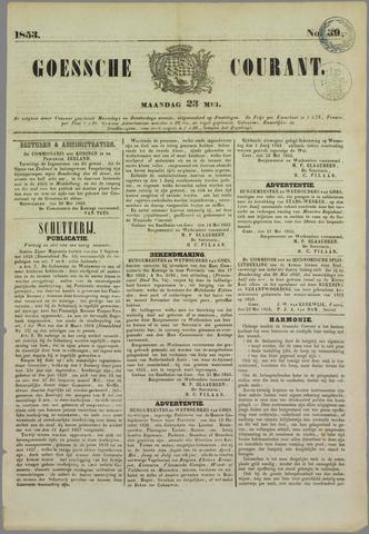Goessche Courant 1853-05-23