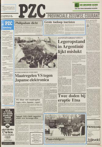 Provinciale Zeeuwse Courant 1987-04-18