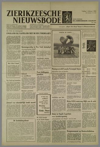 Zierikzeesche Nieuwsbode 1963-02-01