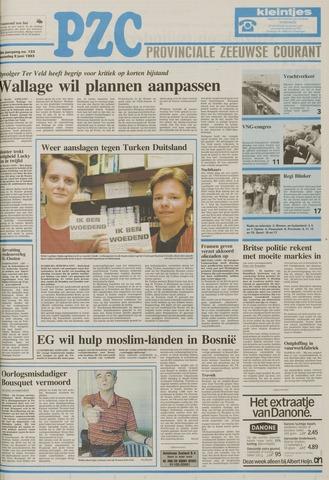Provinciale Zeeuwse Courant 1993-06-09