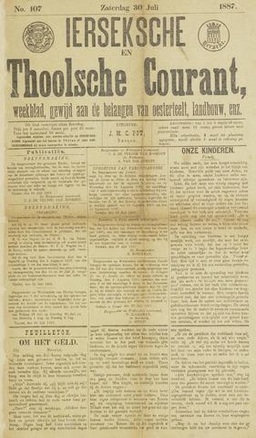 Ierseksche en Thoolsche Courant 1887-07-30