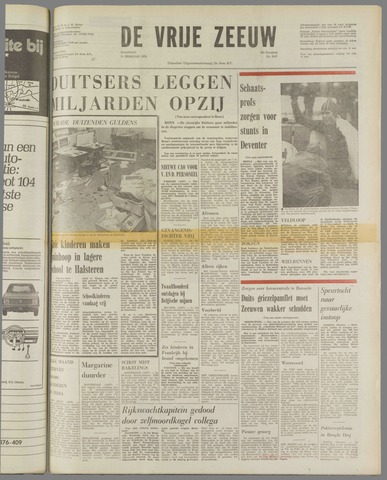 de Vrije Zeeuw 1973-02-19