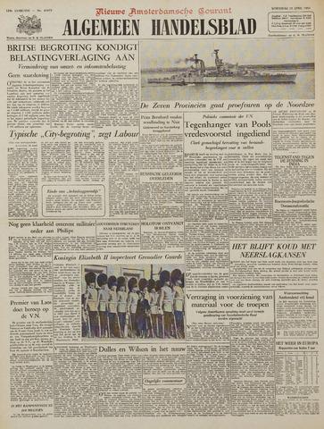 Watersnood documentatie 1953 - kranten 1953-04-15