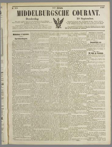 Middelburgsche Courant 1908-09-10