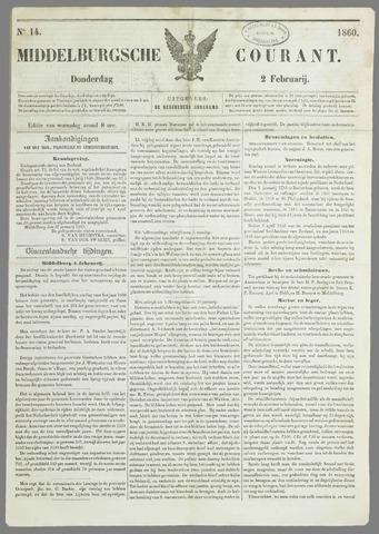 Middelburgsche Courant 1860-02-02