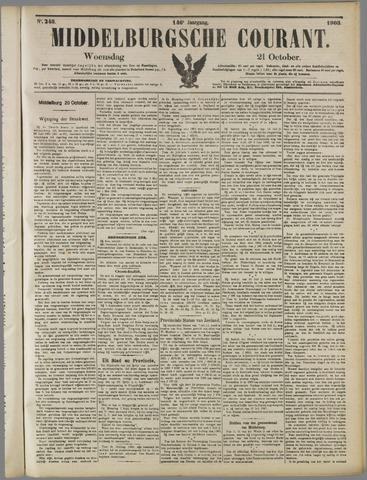 Middelburgsche Courant 1903-10-21