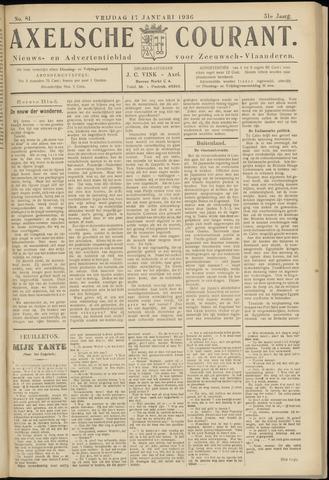 Axelsche Courant 1936-01-17