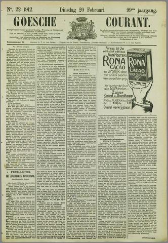 Goessche Courant 1912-02-20