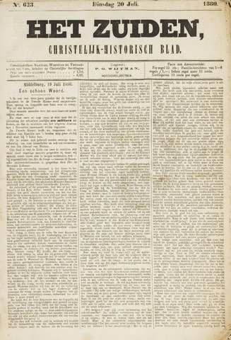Het Zuiden, Christelijk-historisch blad 1880-07-20