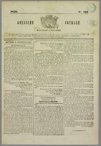 Goessche Courant 1850-12-23