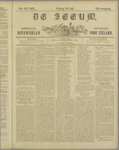 De Zeeuw. Christelijk-historisch nieuwsblad voor Zeeland 1901-07-26