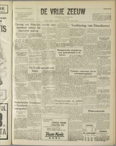 de Vrije Zeeuw 1958-10-16