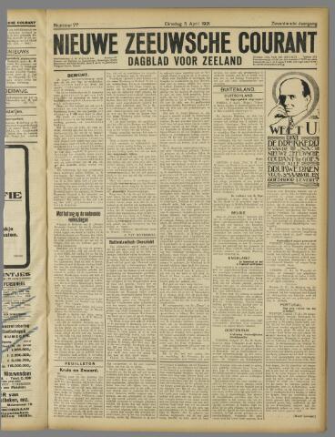 Nieuwe Zeeuwsche Courant 1921-04-05