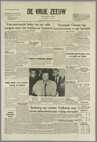 de Vrije Zeeuw 1967-03-09