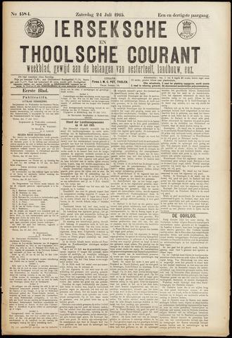 Ierseksche en Thoolsche Courant 1915-07-24