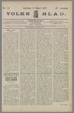 Volksblad 1922-03-18