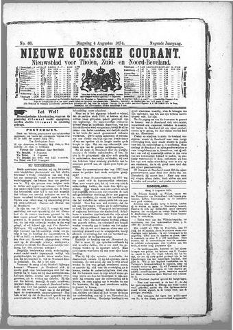 Nieuwe Goessche Courant 1874-08-04