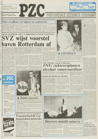 Provinciale Zeeuwse Courant 1984-08-31