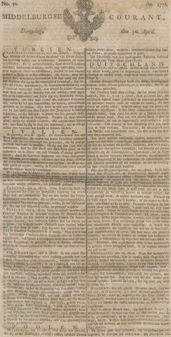 Middelburgsche Courant 1776-04-30