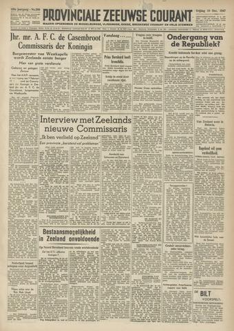 Provinciale Zeeuwse Courant 1947-12-19