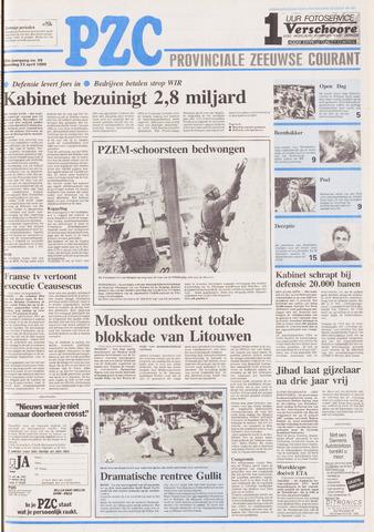 Provinciale Zeeuwse Courant 1990-04-23