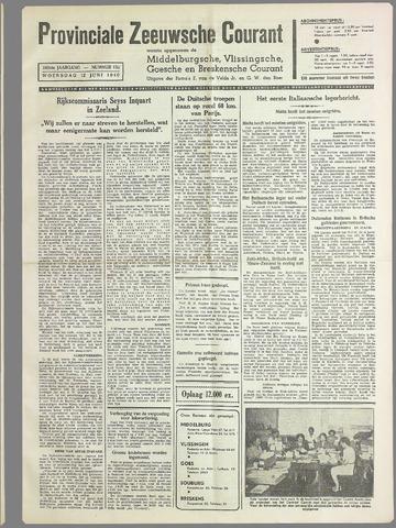 Provinciale Zeeuwse Courant 1940-06-12
